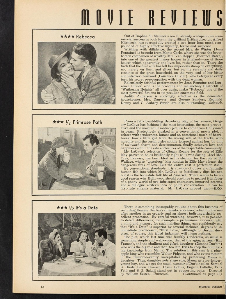 Modern Screen June 1940 Rebecca review modernscreen2021unse_0528