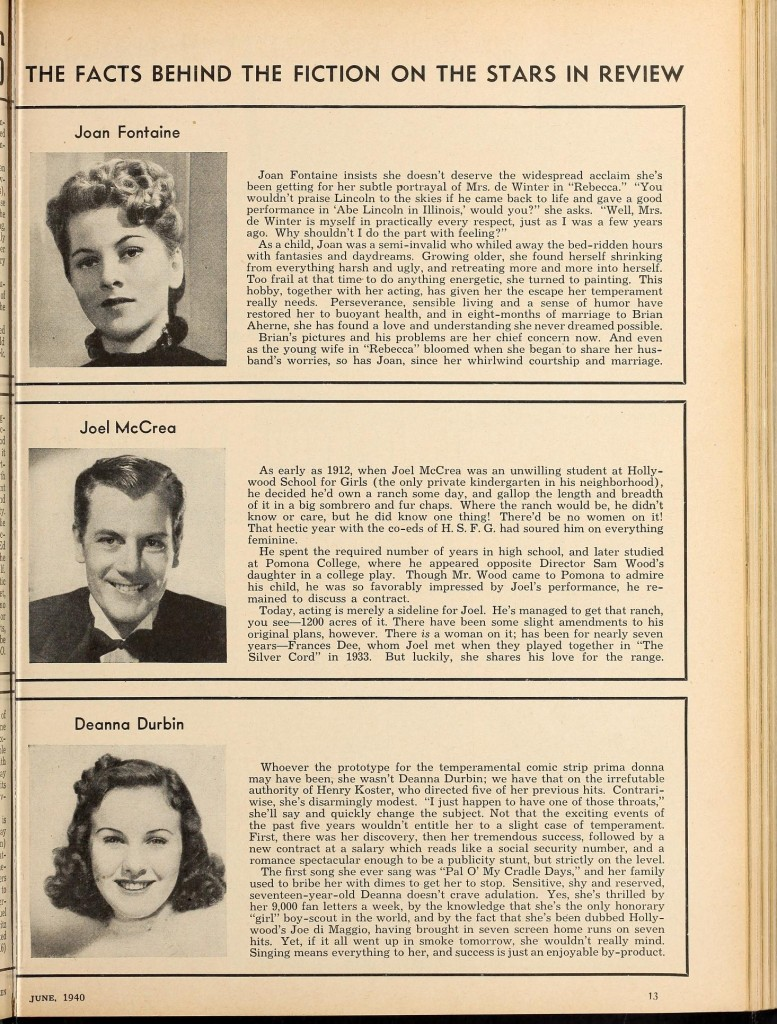 Modern Screen June 1940 Rebecca review page 2 modernscreen2021unse_0529
